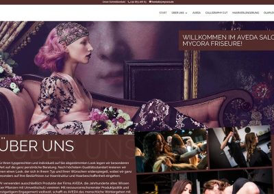 MyCora – Webseite