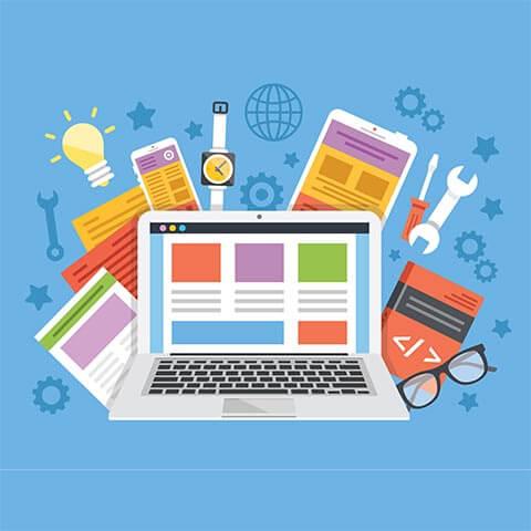 Symbolbild auf der Startseite für die Unterseite Web auf Inpetto Werbung